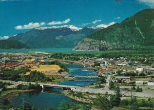 Canada Aerial View Squamish British Columbia