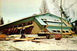 Alaska Turnagain By The Sea Destruction Durng 1964 Alaskan Earthquake