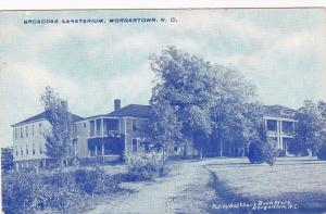 MORGANTOWN, North Carolina, 1900-10s; Broadoak Sanitarium