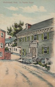 MARBLEHEAD , Massachusetts , 1900-10s ; La Fayette House