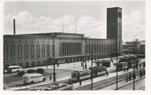 Dusseldorf Germany Der Neue Hauptbahnhof New Central Station RPPC Postcard D23