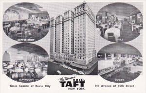 New York City The Famous Hotel Taft Times Square At Radio City