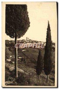 Old Postcard Saint Paul Travers Vue Generale has the Cypres