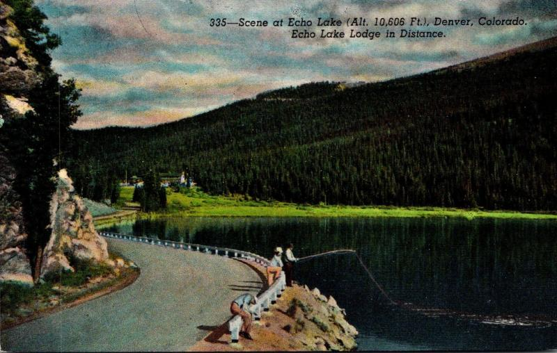 Colorado Denver Scene At Echo Lake