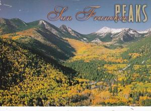 Arizona San Francisco Peaks and Inner Basin