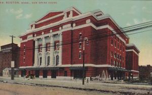BOSTON, Massachusetts, 1900-1910's; New Opera House