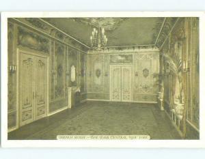 Unused 1940's FRANCE ROOM AT PARK CENTRAL HOTEL New York City NY HQ0393