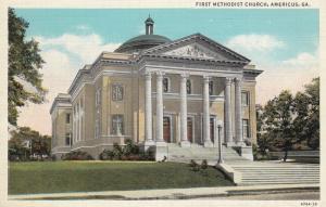 First Methodist Church , AMERICUS , Georgia , 1910-30s