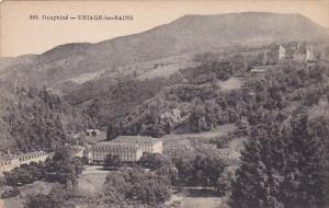 DAUPHINE, France, 1900-1910's; Uriage Les Bains