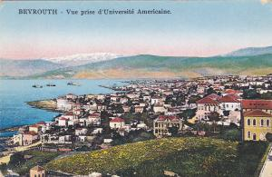 Vue Prise D'Universite Americaine, BEYROUTH, Lebanon, Asia, 1900-1910s
