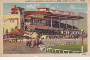 Club House & Grand Stand , Agua Caliente Jocky Club , TIJUANA , Mexico , 30-40s