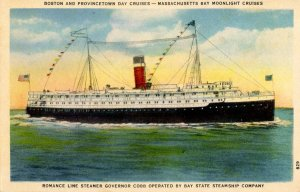 Bay State Steamship Co. - SS Governor Cobb