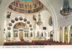 Florida Tarpon Springs St Nicholas Greek Orthodox Church Interior