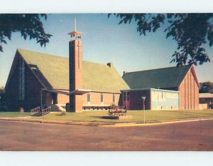 Unused Pre-1980 CHURCH SCENE Medicine Hat Alberta AB A6568