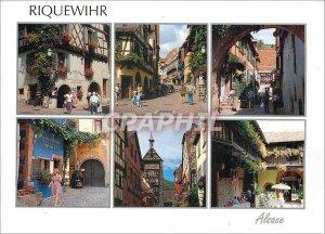 Modern Postcard Riquewihr (Haut Rhin)