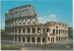 ROMA, Il Colosseo, The Colosseum, 1977 used Postcard