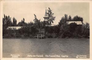 Argentina Delta del Parana Rio Parana Mini Capilla Postcard