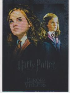 HARRY POTTER HEROES AND VILLAINS COLLECTORS CARDS - 630