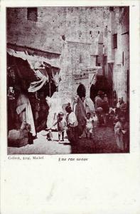 Une Rue Arabe, Africa, 1900-1910s