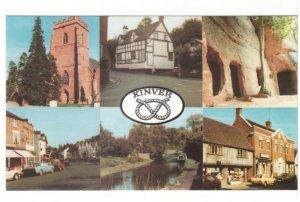 Kinver - Staffordshire - England - Vintage Chrome Multiview Postcard - 6 Views
