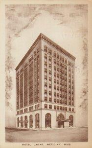 MERIDIAN , Mississippi, 1950 ; Hotel Lamar