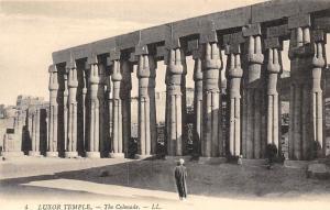 Agypt Luxor Temple The Colonade