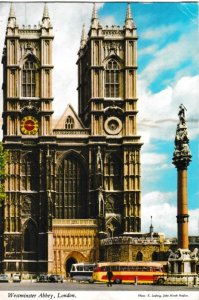 Postcard London Westminster Abbey Hinde