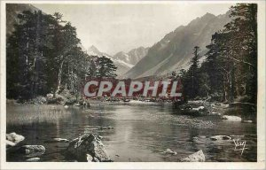Modern Postcard Cauterets Vallee de Gaube Lake Huas