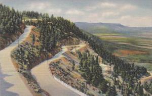 Colorado Colorado Springs Broadmoor Cheyenne Mountain Highway Curteich