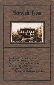 LPS51 Bismarck North Dakota State Capitol Building Postcard RPPC