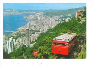 The Hong Kong Peak Tramway, Hong Kong, China, 1950-1970s