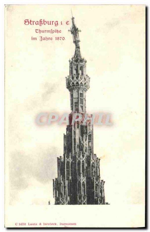 Old Postcard Strasbourg