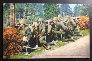 Mint Switzerland Picture Postcard PPC Infantry Officers Patrol