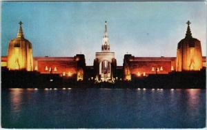 SAN FRANCISCO, CA California  TREASURE ISLAND  c1940 GGIE  Postcard