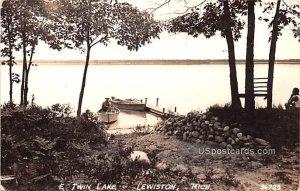 E Twin Lake in Lewiston, Michigan