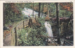 Caldeno Falls Delaware Water Gap Pennsylvania