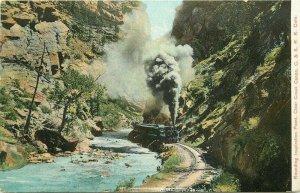 Colorado Southern Railway Inspirational  Point C-1910 Postcard 6584