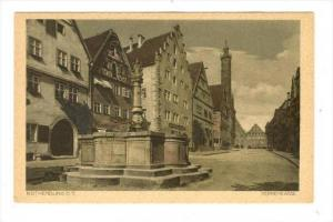 Rothenburg o.d.Tauber , Germany , 00-10s   Herrengasse