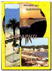 Postcard Modern Sablettes les Bains Vue Generale