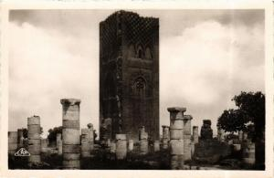 CPA Rabat Ruines de la Tour Hassan MAROC (689983)