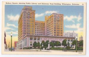 Rodney Square Public Library Delaware Trust Wilmington DE