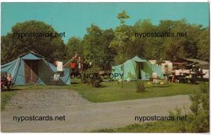 Camping Area, Cayuga Lake State Park
