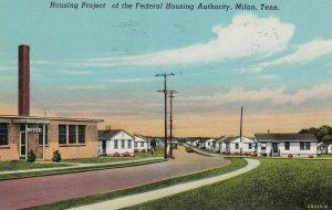 MILAN , Tennessee , 1955 ; Housing project of the Federal Housing Authority