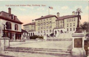 FITCHBURG, MA HIGH SCHOOL & WALLACE WAY