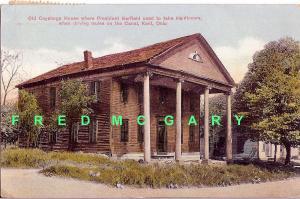 1913 Kent Ohio PC: Historic Old Cuyahoga House