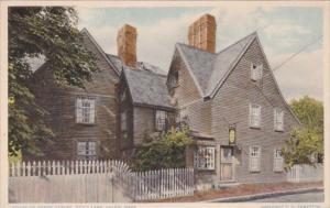 House Of Seve Gables Built 1668 Salem Massachusetts