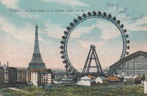 PARIS , France , 00-10s ; La Tour Eiffel et la Grande Roue