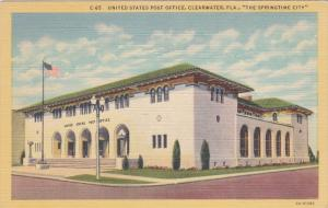 United States Post Office, CLEARWATER, Florida, 1930-1940s