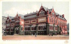The Art Museum Boston, Massachusetts Postcard