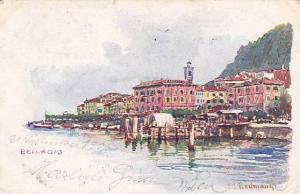 AS, Partial View, Bellagio (Lombardy), Italy, 1900-1910s